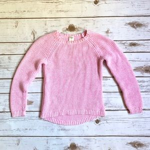 Oshkosh Toddler Girl 5 Pink Marbled Sweater